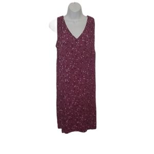 Denver Hayes Floral Print Sleeveless Dress